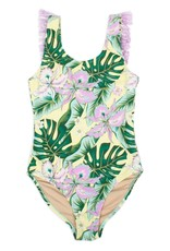 Shade Critters Shade Critters Fringe Back One Piece Tropical Oasis