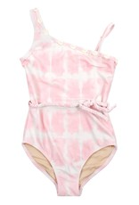 Shade Critters Shade Critters Pink Tie Dye One Shoulder