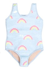 Shade Critters Shade Critters Rainbows Flip Sequin One Piece