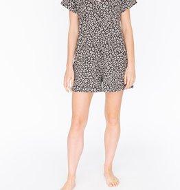 Smash & Tess Smash & Tess Sunday Shorty Grey Lola Leopard Large