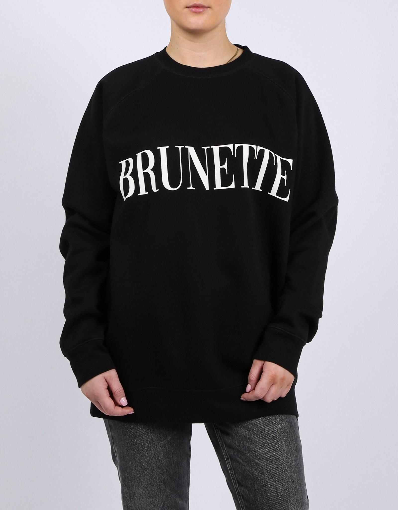 "Brunette The Label Brunette The Label ""BRUNETTE"" Big Sister Crew"