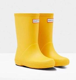 Hunter Hunter Kids First Classic Boots Yellow