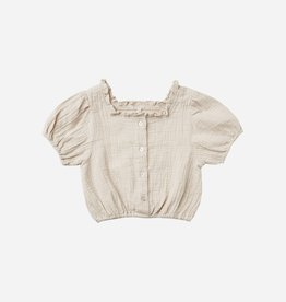 Rylee & Cru Rylee & Cru Dylan Blouse Embroidered Daisy