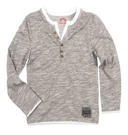 Appaman Appaman Camden Long Sleeve Grey Scale
