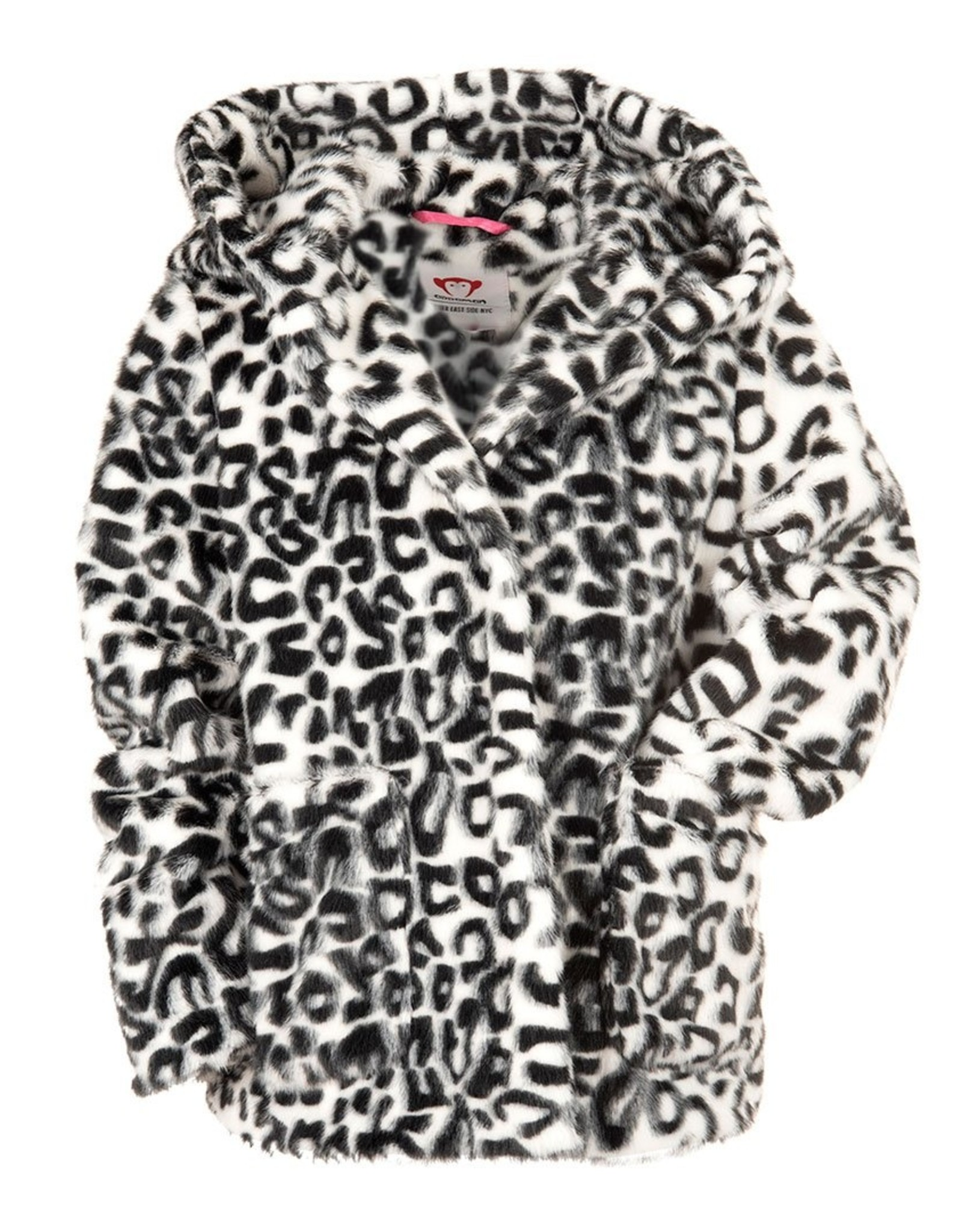 Appaman Appaman Cleo Faux Fur Coat Snow White