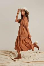 Rylee & Cru Rylee & Cru Mandi Dress Rust