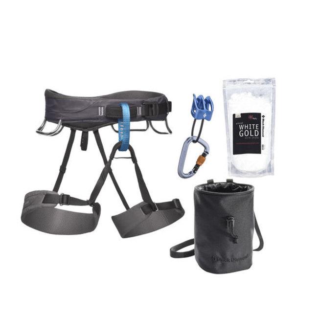 harness for all-around climbers Black Diamond Momentum 2018 slate