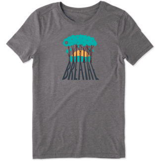 Life is Good Women's Breathe Trees Cool Tee