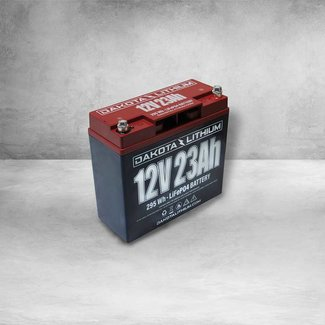 Dakota Lithium 12V 23AH BATTERY