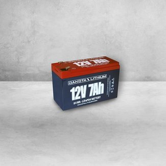 Dakota Lithium 12V 7AH BATTERY