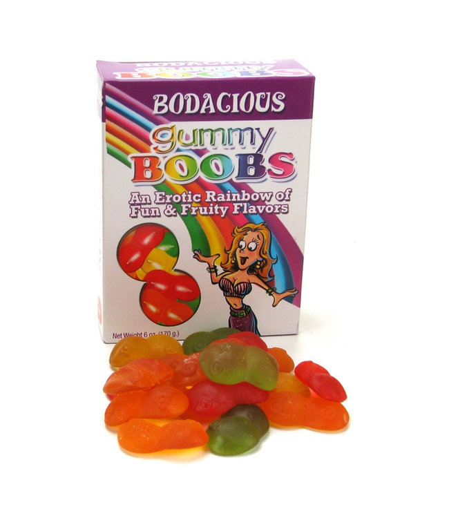 Fruit Flavoured Gummy Boobs