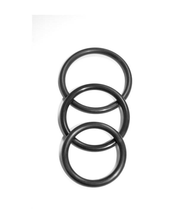 Sex & Mischief Nitrile Cock Ring - 3 pack