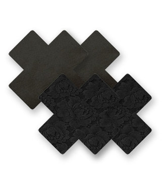 Nippies Nippies Black Cross Nipple Covers