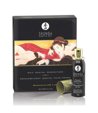 Shunga Shunga Male Desensitizer with Time Synchronized Action