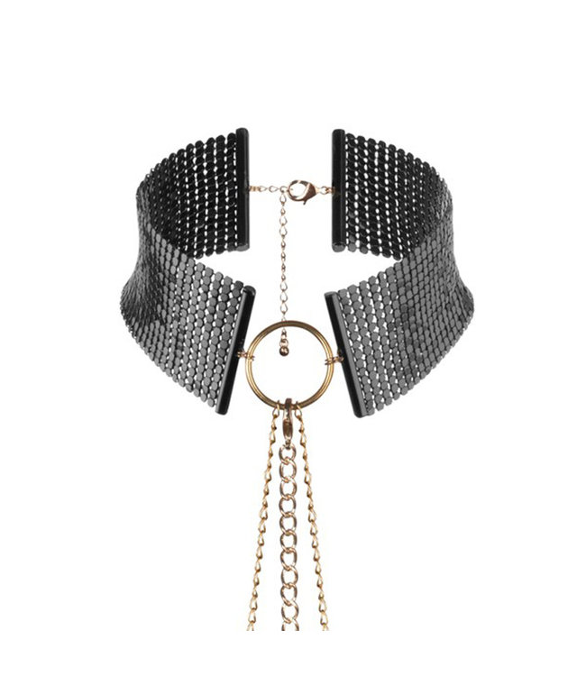 Bijoux Desir Metallique Mesh Collar and Leash