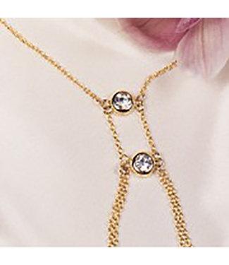 Sylvie Monthule Riviere Secrete Necklace Nipple Jewellry