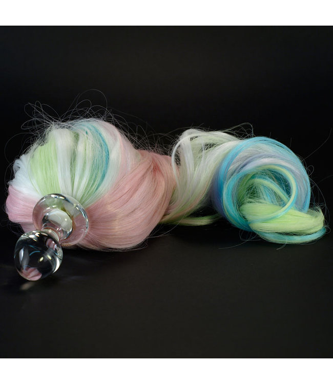 Rainbow Pony Tail Plug