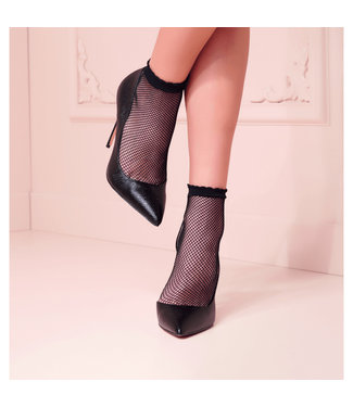 Transparenze Transparenze Idra Ankle High Fishnet Socks