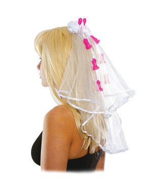 Bachelorette Clip-on Veil