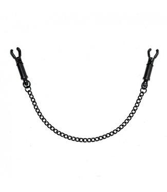 Black Metal Barrel Nipple Clamps