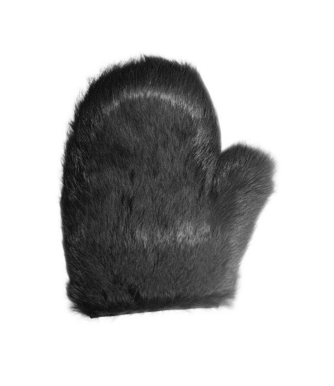 Leather & Fur Spanking Mitt
