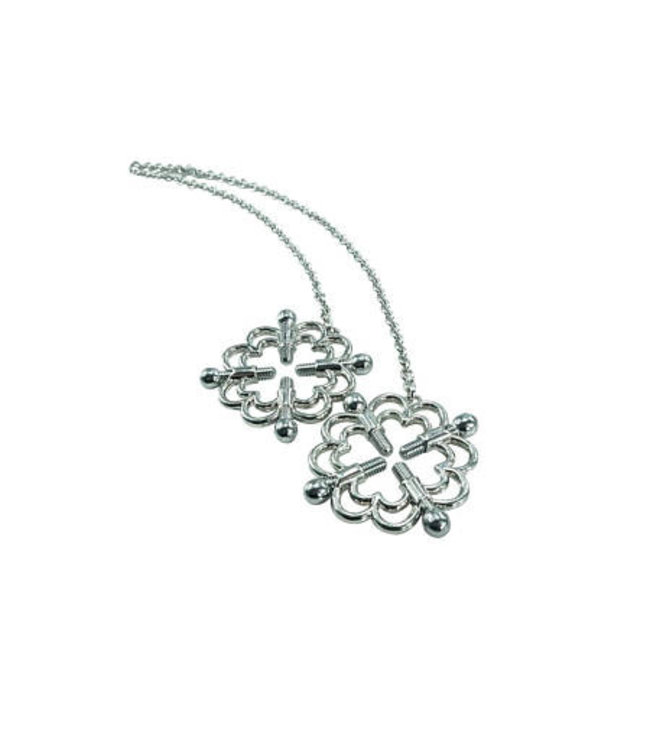 Four Point Silver Nipple Clamps