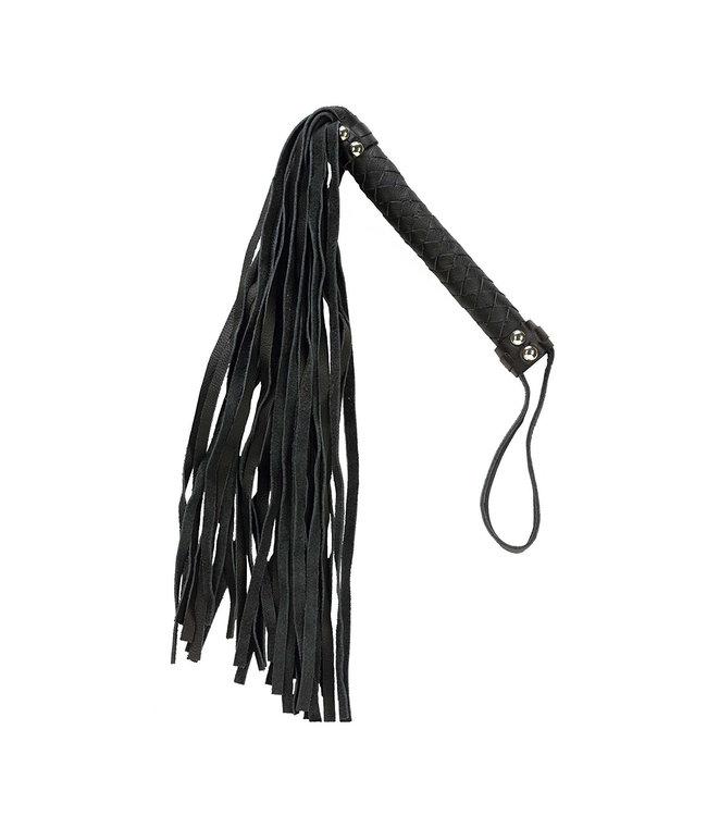 Black 26 Leather Flogger
