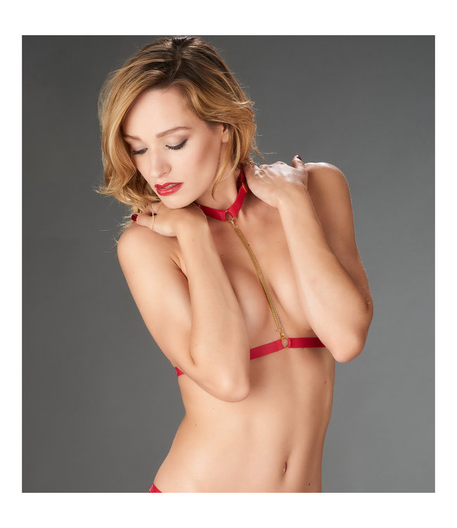 Maison Close Tapage Nocturne Harness Rouge