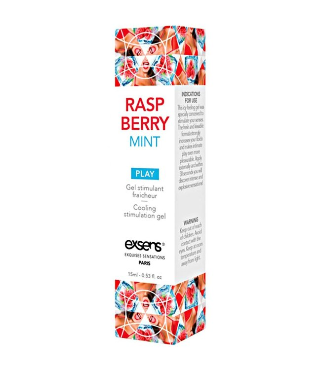 Raspberry Mint Arousal Gel