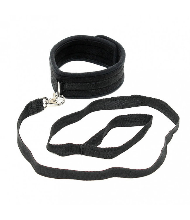 Soft Collar With Leash