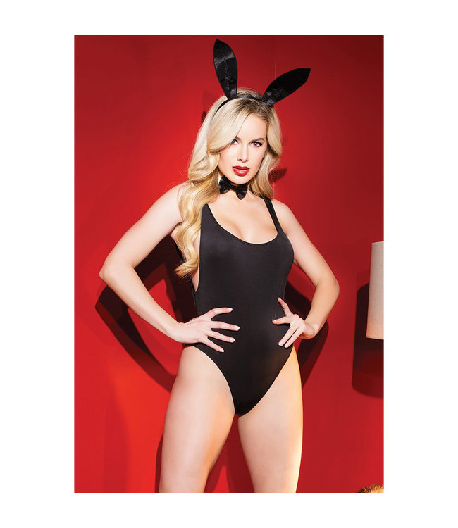 High Cut Teddy Bunny Costume