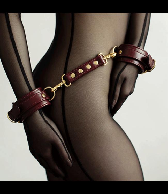 Dominus Burgundy Mila Wrist Cuffs