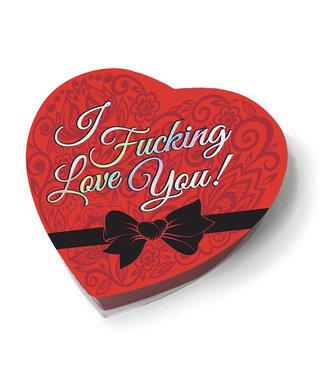 I Fucking Love You Chocolate Box