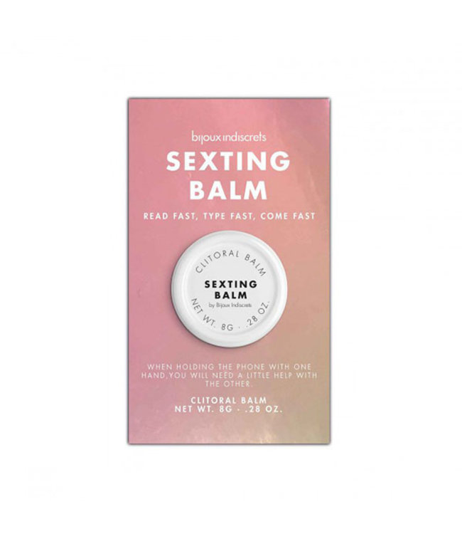 Sexting Clitoral Balm