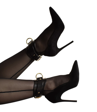 Dominus Black Yelena Ankle Cuffs