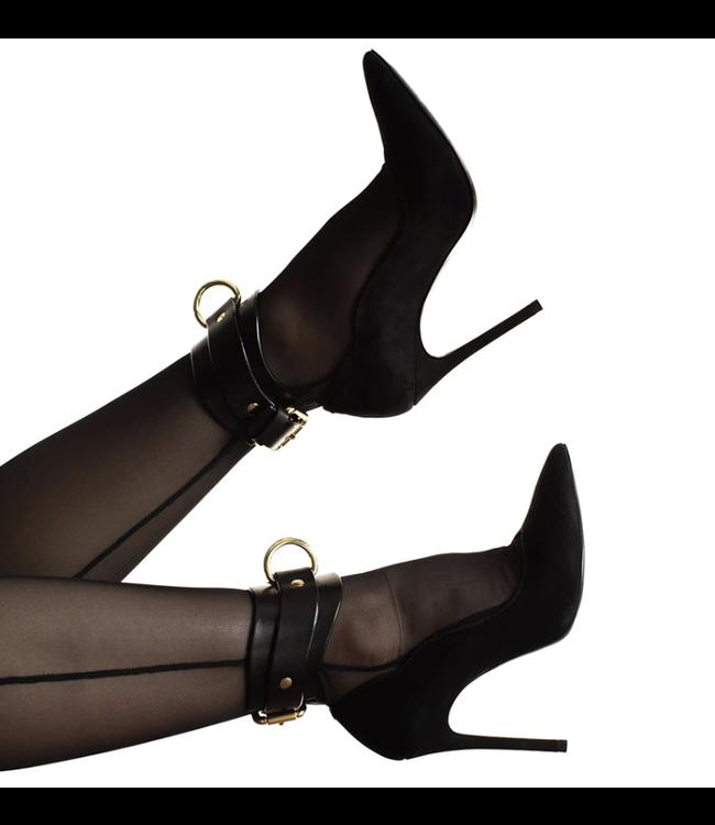 Black Yelena Ankle Cuffs