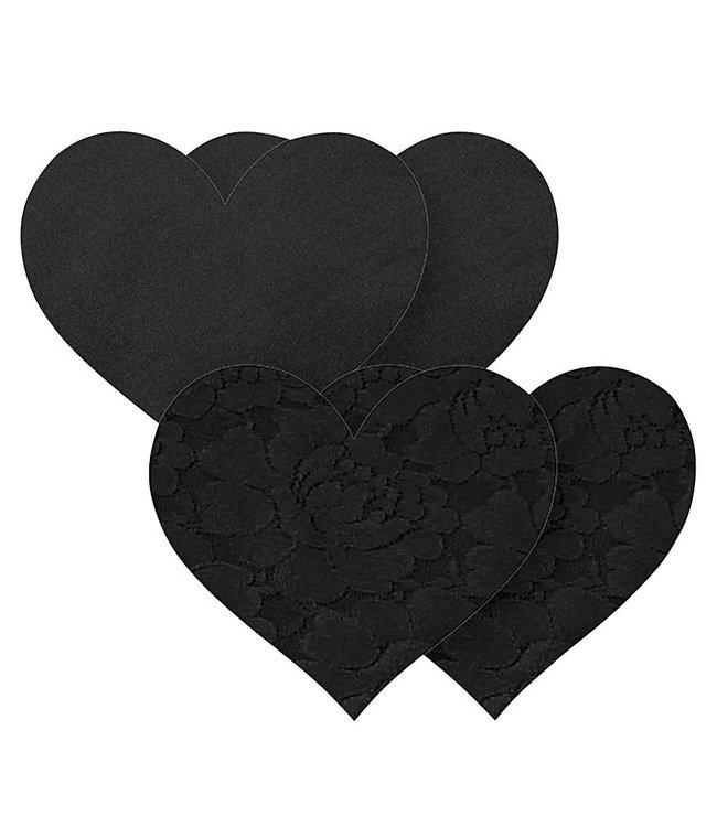 Nippies Nippies Black Heart Nipple Covers