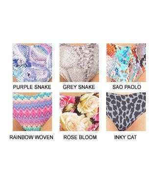 Commando Underwear Commando Invisible Pattern Thong (Color Choice)
