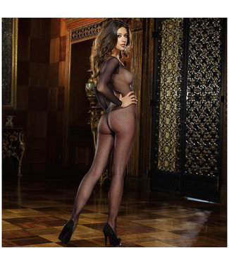 Amsterdam Fishnet Crotchless Bodystocking