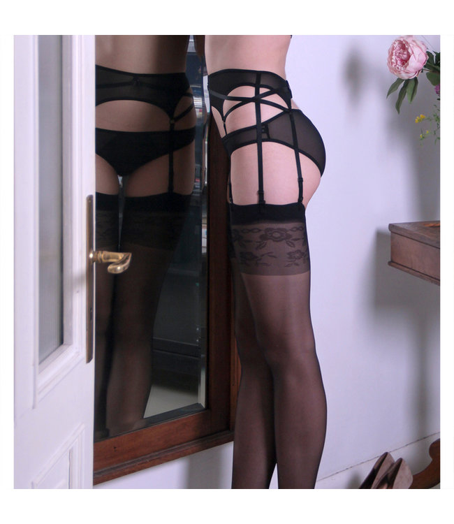 Flash You And Me Double X Mesh Suspender