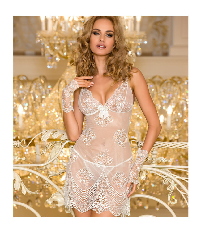 Carriage Ivory Chemise With Thong