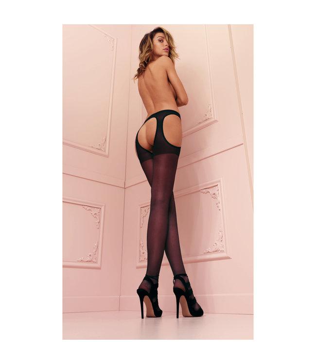 Scandal Flat Seam Garter Stockings