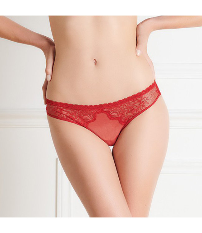 La Directrice Rouge Ouverable Panty