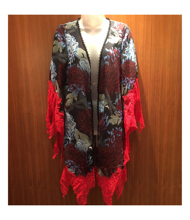 Noblesse Oblige Noblesse Oblige Geisha Peony Robe