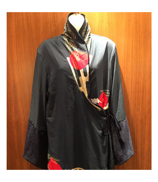 Noblesse Oblige Noblesse Oblige Navy Velvet Robe