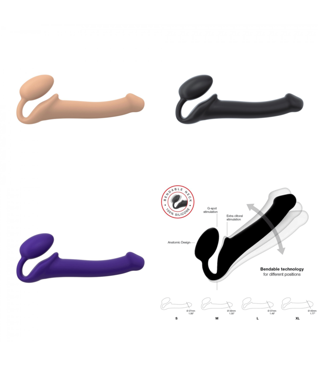 Bendable Strap-On Extra Large