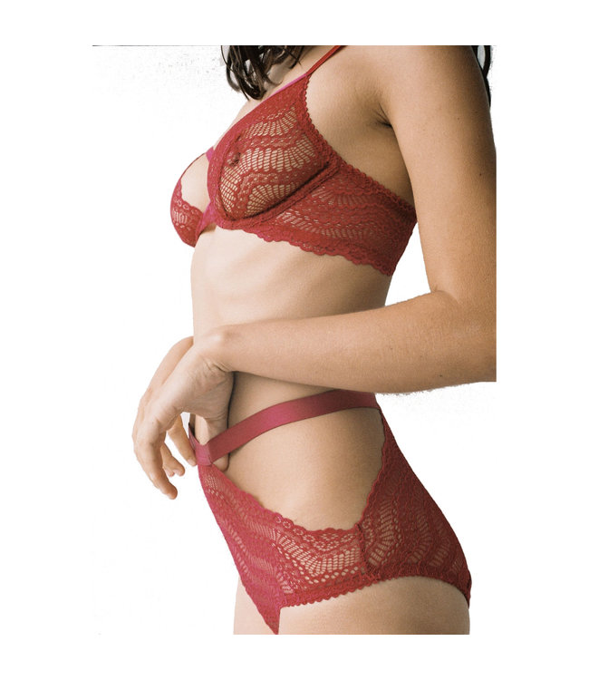 Lonely Lingerie Lonely Agatha High Waist Brief