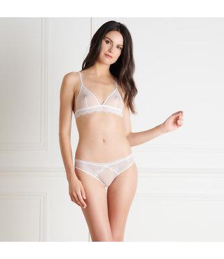 La Directrice Blanc Open Back Panty