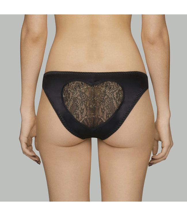Coco de Mer Gilded Heart Bikini Brief
