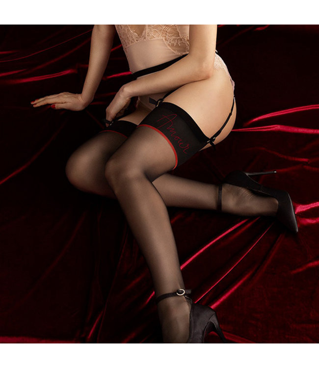 Amante Thigh High Stockings